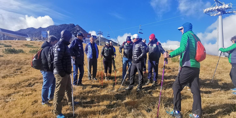 Екип на Международната федерация по ски направи първа инспекция на