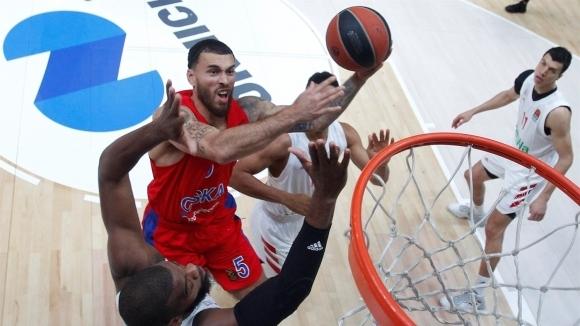 Защитаващият титлата си ЦСКА (Москва) продължи перфектния си старт на