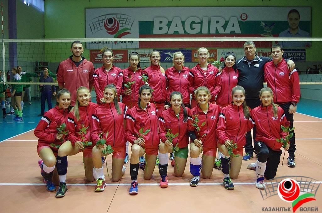 Казанлък Волей Багира загуби от вицешампиона по волейбол при жените