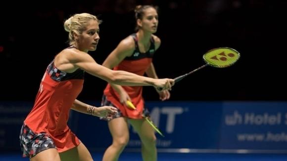 Българските бадминтонистки Габриела и Стефани Стоеви се класираха за полуфиналите