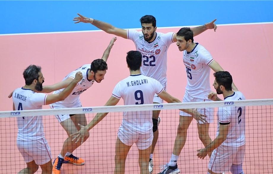 Мъжкият национален отбор на Иран записа четвърти успех в турнира