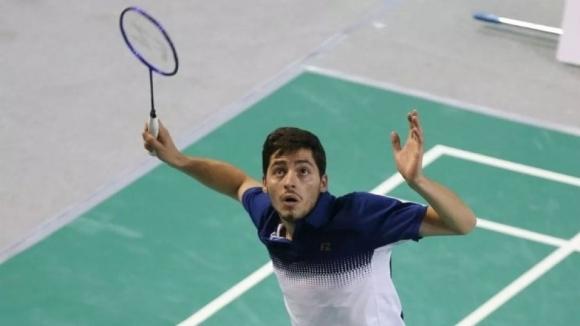 Даниел Николов отпадна на четвъртфиналите на силния турнир по бадминтон