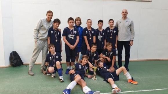 Отборът на Левски София за момчета, родени през 2007 и