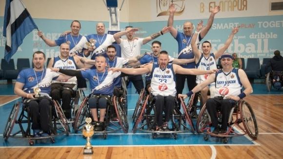 БКХУ Левски е новият шампион по баскетбол на колички на