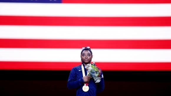 Симон Байлс подобри рекорда за най-много спечелени медали от Световни