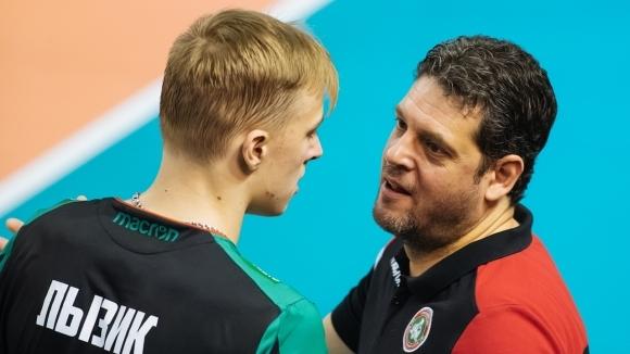 Бившият селекционер на националния отбор на България Пламен Константинов изведе