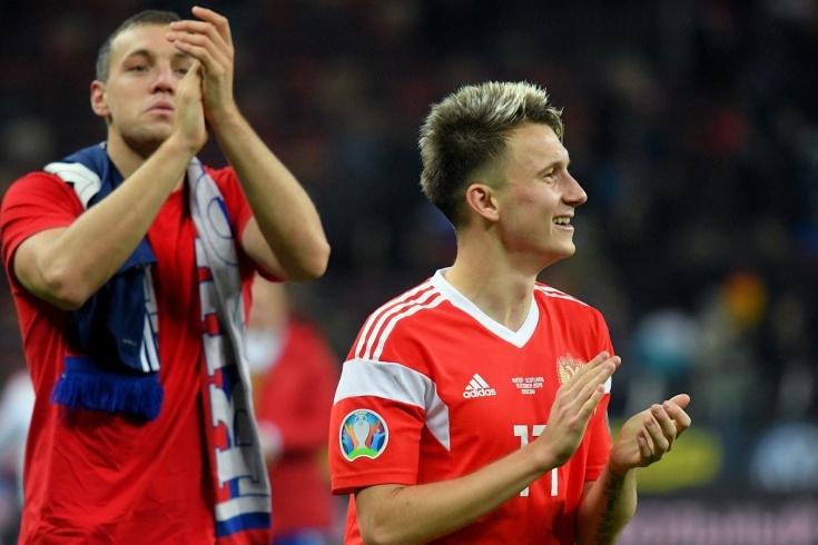 Полузащитникът на руския национален отбор Александър Головин коментира шансовете да