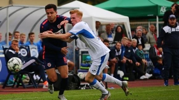 Бившият национал Димитър Рангелов вкара нов гол за своя Енерги
