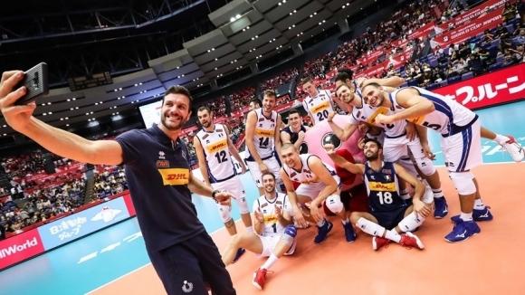Олимпийските вицешампиони от Рио 2016 от Италия записаха 5-а победа