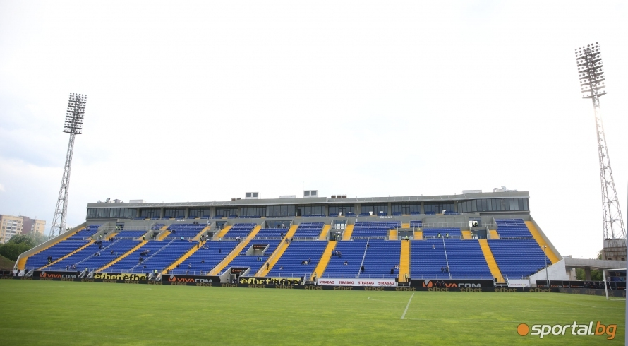 """Националният отбор на Англия проведе тонизираща тренировка на стадион """"Георги"""