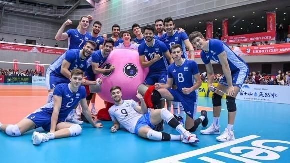 Мъжкият национален отбор на Аржентина записа пети успех в турнира