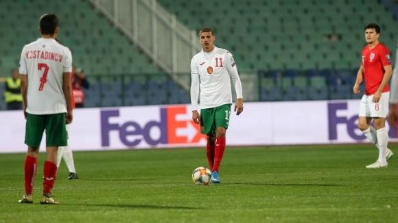 Атакуващият футболист на България Кирил Десподов сподели първите си впечатления
