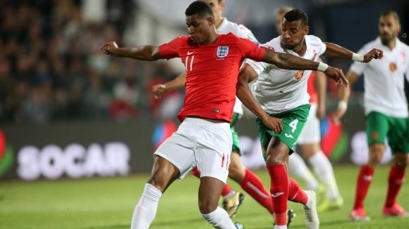 Нападателят на Англия Маркъс Рашфорд коментира победата с 6:0 над