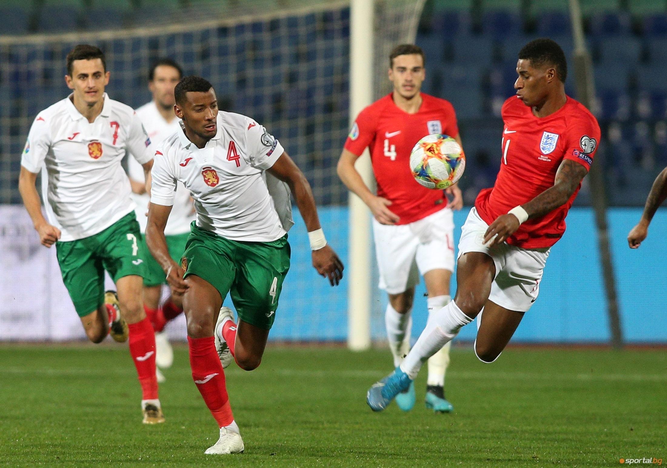 Националът Георги Пашов заяви след загубата от Англия с 0:6,