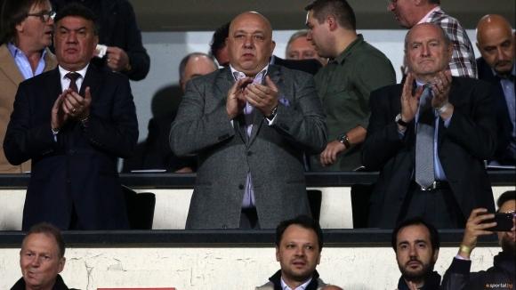 Президентът на Българския футболен съюз Борислав Михайлов не догледа края