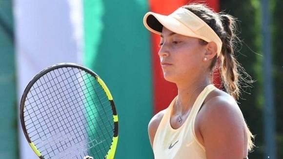 Държавната шампионка Петя Аршинкова се класира за втория кръг на