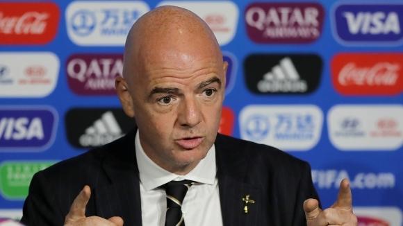 Снимка: ФИФА поиска по-строги мерки за расизма, Инфантино изненадан от някои части на света