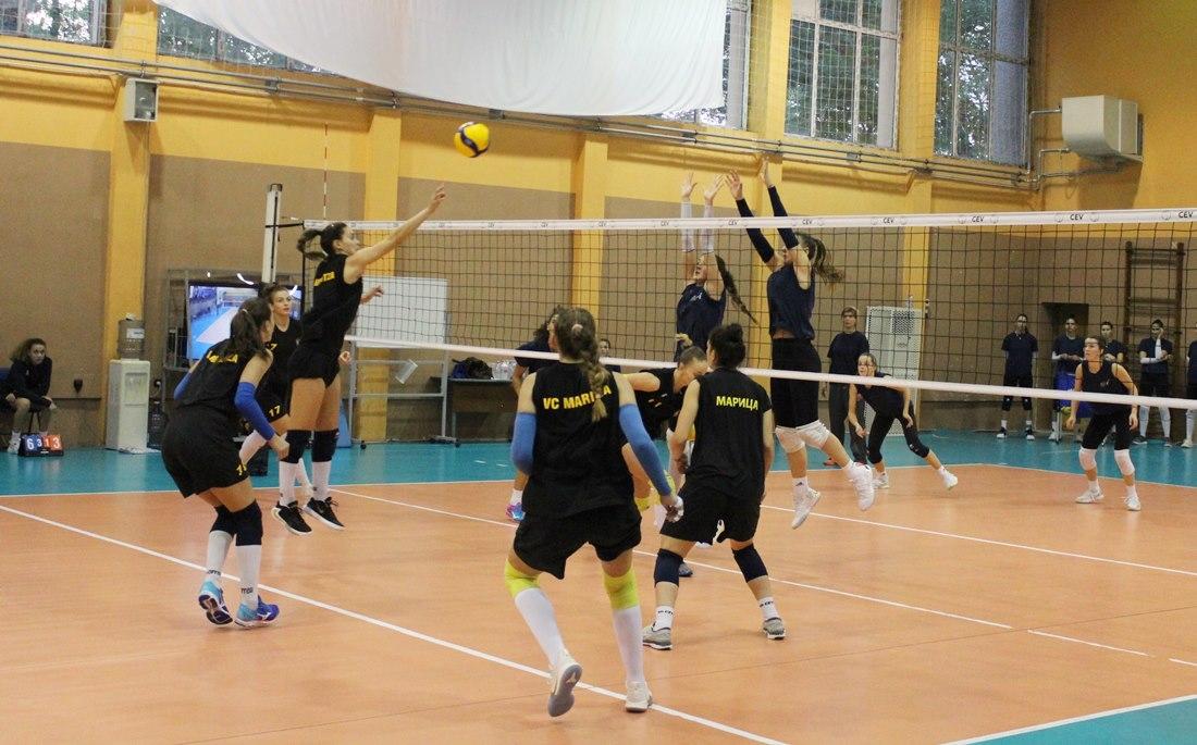 Шампионът на България Марица (Пловдив) продължава с контролните срещи и