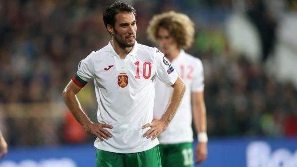 Капитанът на българския национален отбор по футбол Ивелин Попов опита