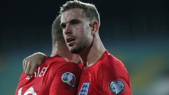 Футболистът на английския национален отбор и Ливърпул Джордан Хендерсън предизвика