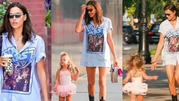 Ирина Шайк и дъщеря й Леа не могат да избягат