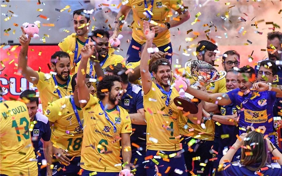 Волейболният отбор на Бразилия спечели за трети път Световната купа