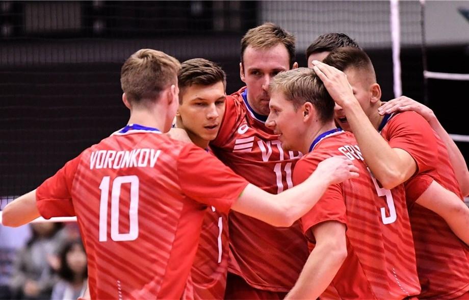Двукратните шампиони от Волейболната лига на нациите от Русия завършиха