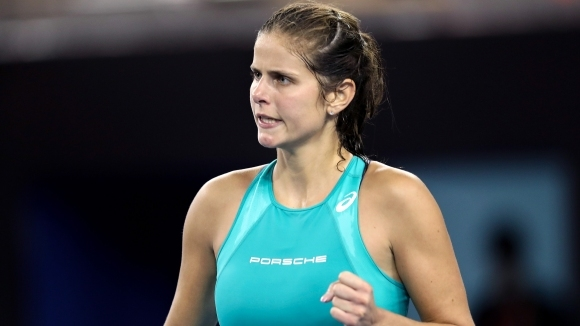 Защитаващата титлата си Юлия Гьоргес се класира за втория кръг
