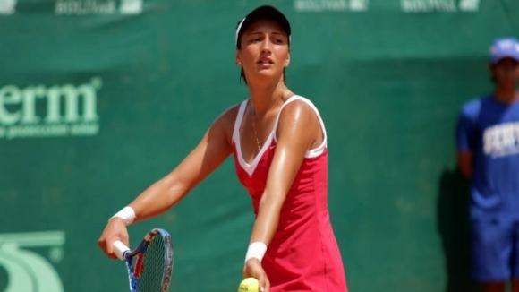 Александрина Найденова отпадна във втория кръг на турнира по тенис