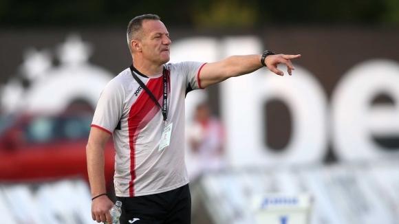 Днес, 17 октомври 2019 старши треньорът на Локомотив (София) празнува