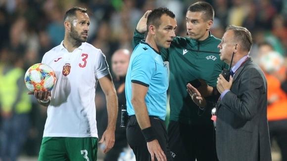 Защитникът на ЦСКА-София Петър Занев беше потърсен за коментар от