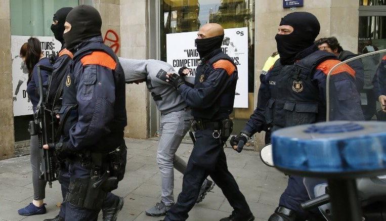 Гражданската гвардия в Испания е арестувала четирима от заподозрените членове