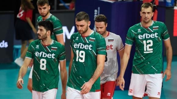 Волейболистите от националния отбор на България за мъже останаха на
