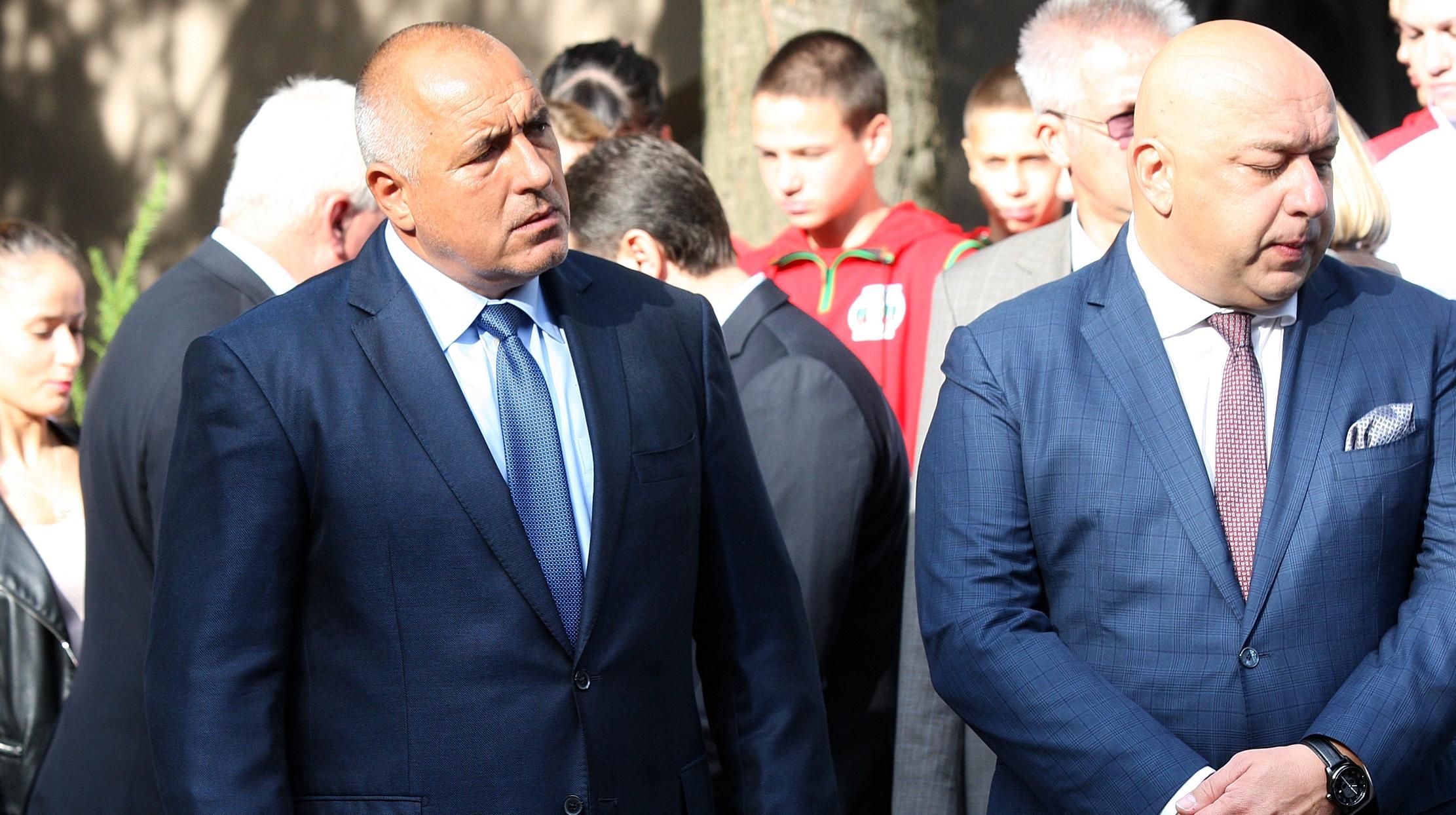 Премиерът Бойко Борисов пак говори по случая с поисканата от