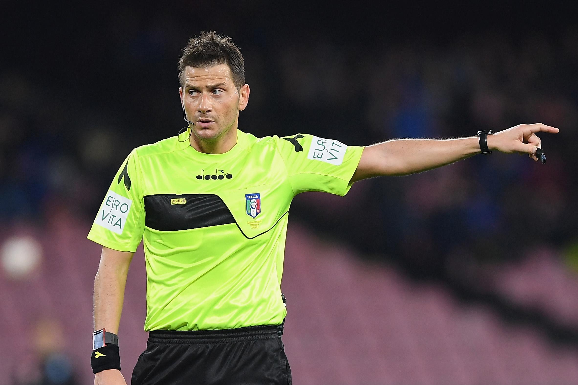 Италианската футболна федерация определи съдийските наряди за 8-ия кръг в