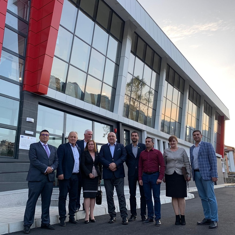 Министърът на младежта и спорта Красен Кралев посети Смолян и