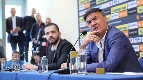 Подалият оставка като президент на БФС Борислав Михайлов изрази убеденост,