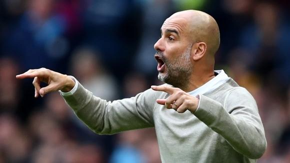 Мениджърът на Манчестър Сити Пеп Гуардиола не се паникьосва, въпреки