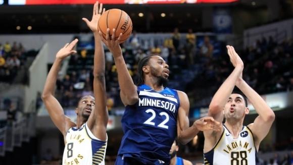 Андрю Уигинс играе в НБА от 2014 година насам, когато