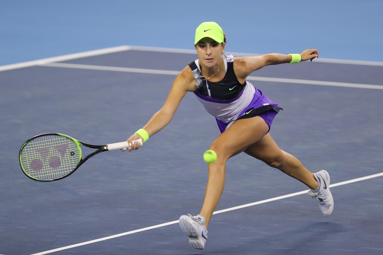 Белинда Бенчич преодоля квалификантката Кирстен Флипкенс със 7:6(8), 6:1 за