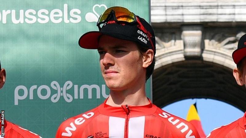 19-годишният колоездач на елитния отбор Sunweb Едо Маас, който беше