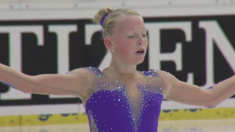 Българската фигуристка Мария Левушкина заслужи участие на Младежките зимни олимпийски