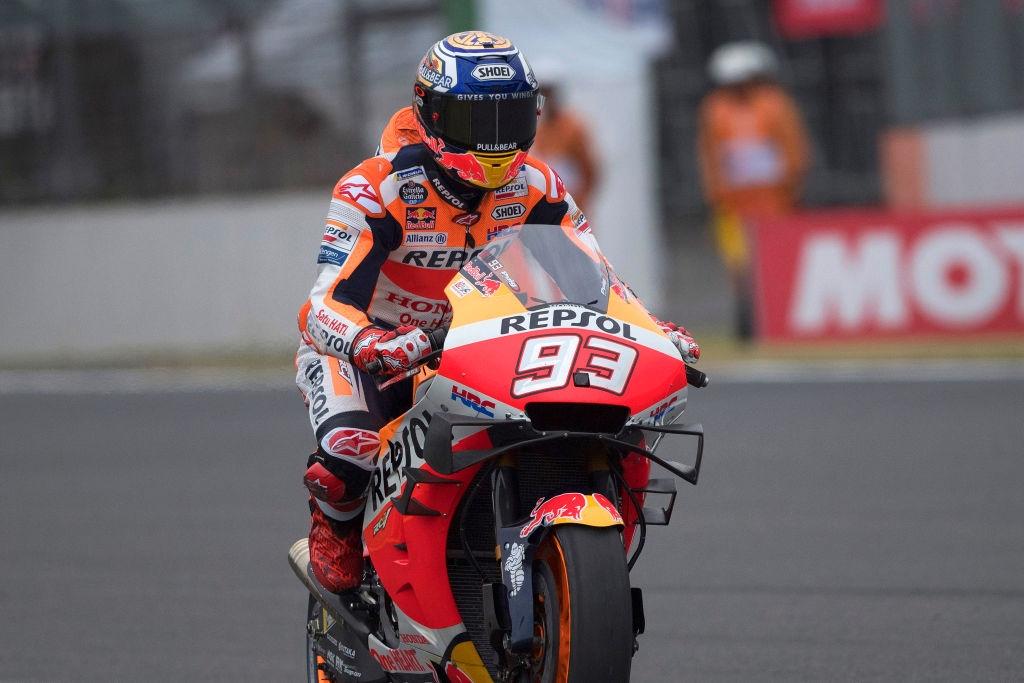 Световният шампион за сезон 2019 в MotoGP Марк Маркес (Honda)