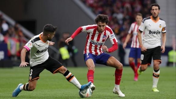 Отборите на Атлетико Мадрид и Валенсия завършиха при 1:1 в