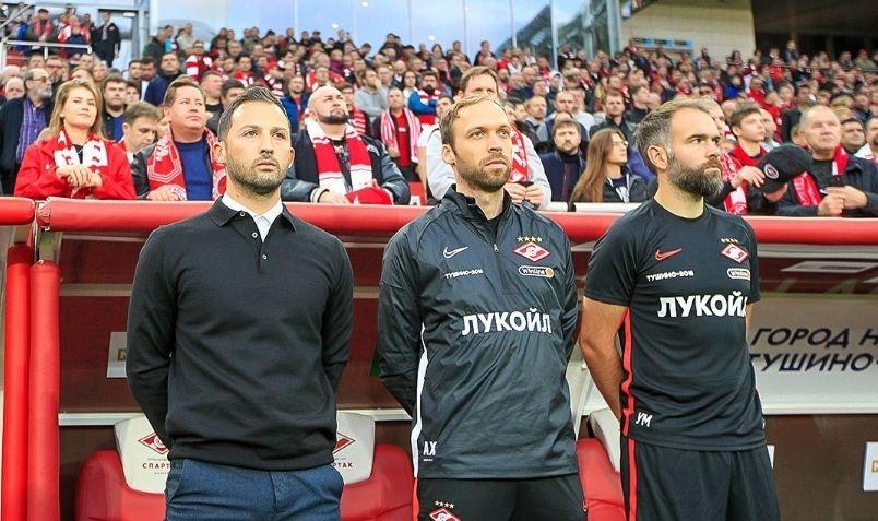 Новият старши треньор на Спартак (Москва) Джовани Тедеско дебютира в