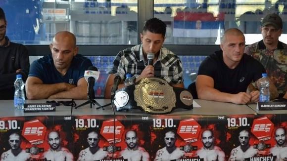 Българският ММА състезател Владислав Кънчев излиза тази вечер на ринга