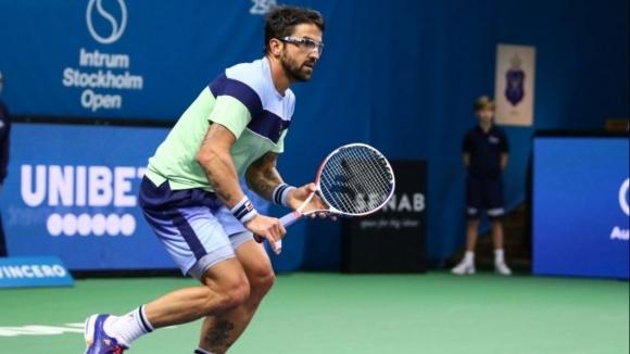 В Стокхолм 35-годишният Янко Типсаревич играе на последния си турнир