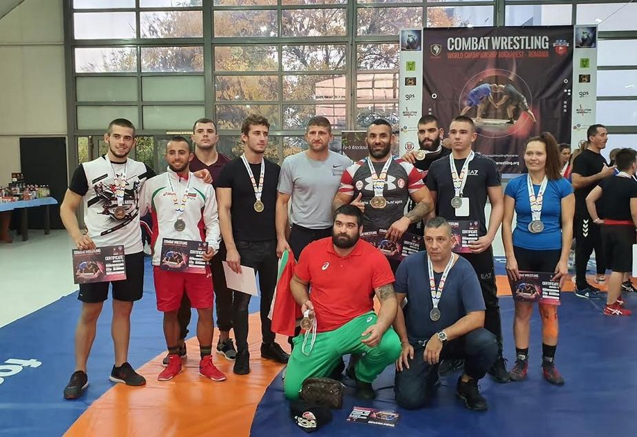На провелото се Световно първенство по комбатрестлинг в Букурещ, националният