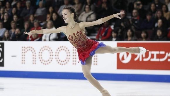"""Рускинята Анна Щербакова спечели """"Скейт Америка"""", първото от общо шестте"""