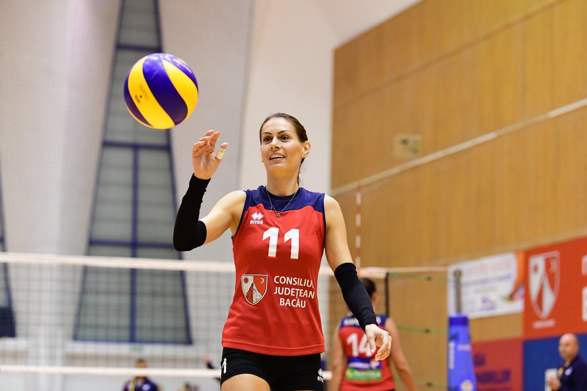 Българската волейболистка Славина Колева и нейният Щиинца (Бакъу) записаха трета